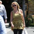 Britney Spears dans les rues de Los Angeles, le 19 avril 2013.