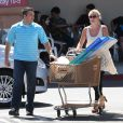 Britney Spears en sortie course à Calabasas, le 20 avril 2013.