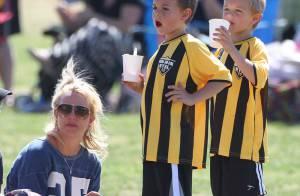 Britney Spears : Supportrice gourmande auprès de ses fils, maman active en solo
