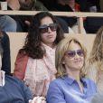 Xisca Perello lors de la finale de tennis du Monte Carlo Rolex Masters 1000 à Monaco le 21 Avril 2013 entre Novak Djokovic et Rafael Nadal