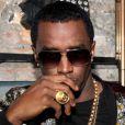 Diddy célèbre le succès de la mixtape RockAByeBaby de sa chérie Cassie au SL Lounge. New York, le 21 avril 2013.