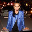 Cassie fête le succès de sa première mixtape RockAByeBaby au SL Lounge à New York. Le 21 avril 2013.