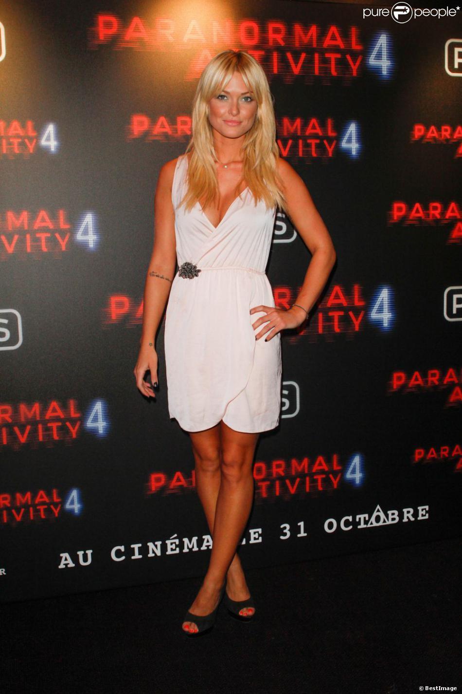 Caroline Receveur en octobre 2012 à Paris