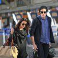 Lea Michele et Cory Monteith à l'aéroport de Vancouver, le 18 mars 2013.
