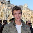 Le jeune Pierre Casiraghi a participé au 16e Rallye de Monte-Carlo à Monaco, le 31 Janvier 2013.