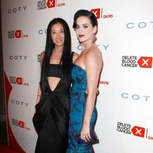 Vera Wang et Katy Perry assistent au gala Delete Blood Cancer au Cipriani Wall Street. New York, le 1er mai 2013.