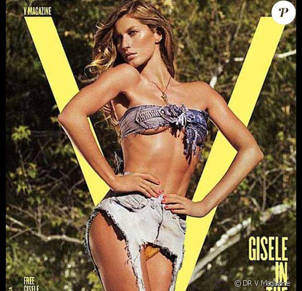 Gisèle Bundchen pour V Magazine