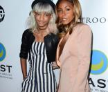 Willow Smith et Jada Pinkett Smith lors de la soirée  Freedom From Slavery  à l'hôtel Sofitel à Los Angeles, le 9 mai 2013.