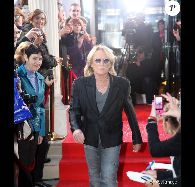 Christophe le 2 mai 2013 lors de l'enregistrement de Vivement Dimanche.