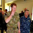 Le prince Harry en visite au Walter Reed National Military Medical Centre à Washington le 10 mai 2013