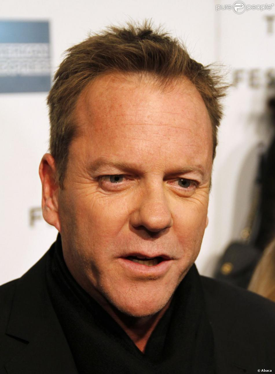 Kiefer Sutherland le 22 avril 2013 à New York.