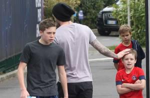 David Beckham partant du PSG ? Ses fils adorent pourtant le Camp des Loges...