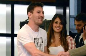 Lionel Messi : Sortie shopping mouvementée avec sa belle Antonella