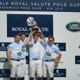 Le prince Harry lors du Sentebale Royal Salute Polo Cup au polo club de Greenwich, dans le Connecticut, au dernier jour de sa visite officielle aux Etats-Unis, le 15 mai 2013.