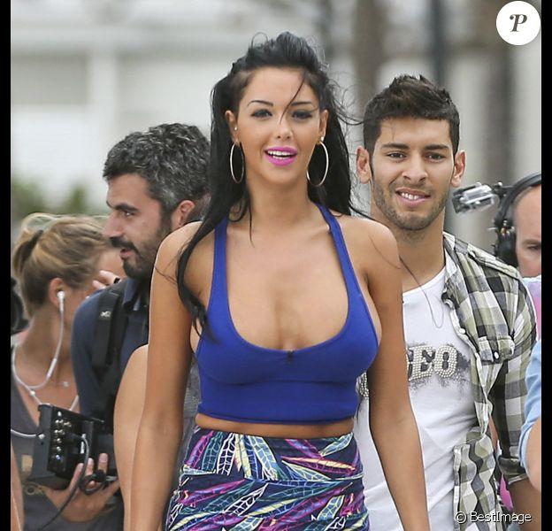 Nabilla à Miami le 22 mars 2013, pour Les Anges 5.