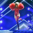 Jennifer Lopez sur la scène des Billboard Music Awards au MGM Grand Garden Arena à Las Vegas, le 19 mai 2013.