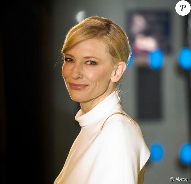 Cate Blanchett en décembre 2012