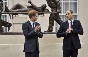William et Harry, complices: L'un boxe un bébé, l'autre pense aux nuits blanches