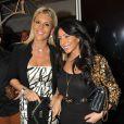 L'ancienne SecretisteAmélie Neten des  Anges de la télé-réalité 5  avec une amie au  VIP Room  de Cannes, lors du 66e Festival du film de Cannes, le 21 mai 2013.