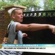 Amélie a peur des dobermans dans  Les Anges de la télé-réalité 5 sur NRJ12