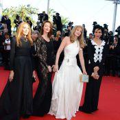 Cannes 2013 : Audrey Marnay sublime pour l'envoûtante Arielle Dombasle