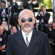 """Christian Louboutin - Montée des marches du film """"Nebraska"""" du réalisateur Alexander Payne, présenté en compétition, lors du 66e Festival de Cannes, le 23 mai 2013."""
