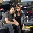 Rosemarie DeWitt et Ron Livingston dans la série  Standoff : les négociateurs  (2006/2007).