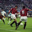 Finale de la Ligue des Champions le 26 mai 1993 à Munich entre l'OM et le Milan AC (1-0).