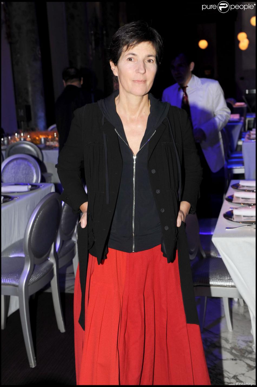 Christine Angot à Paris, le 23 octobre 2009.