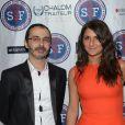 Géraldine Nakache et Arié Levy lors de la grande soirée annuelle de Sauveteurs Sans Frontières, organisée le 27 mai 2013, à la salle Wagram à Paris.