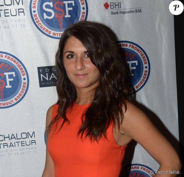 Géraldine Nakache a assisté à la grande soirée annuelle de Sauveteurs Sans Frontières, organisée le 27 mai 2013, à la salle Wagram à Paris.