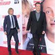 Owen Wilson et Vince Vaughn arrivent à la première mondiale du film Les Stagiaires (The Internship) au Regency Village Theatre, Westwood, Los Angeles, le 29 mai 2013.
