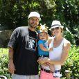 Kevin Federline et Victoria Prince ont emmené leur adorable petite Jordan au zoo, pour la première fois, à Los Angeles, le 29 mai 2013
