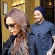 """""""David et Victoria Beckham à Paris le 4 mai 2013."""""""