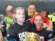 Franck Ribéry : Nouveau trophée, douche de bière et photos avec Wahiba
