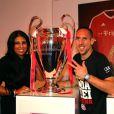 Franck Ribéry a décroché la Coupe d'Allemagne face au VfB Stuttgart le 1er juin 2013 au Stade Olympique de Berlin (3-2), avant de célébrer ce nouveau titre (après le championnat d'Allemagne et la Ligue des Champions) dans les rues de Munich le 2 juin