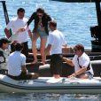 Vladimir Doronin et sa nouvelle compagne Luo Zilin roucoulent en vacances à Ibiza le 03/06/2013