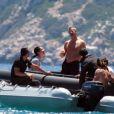 Vladimir Doronin et sa nouvelle compagne Luo Zilin en vacances à Ibiza le 03/06/2013