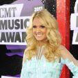 Carrie Underwood à la cérémonie des CMT Music Awards à Nashville, le 5 juin 2013.