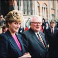 Pierre Mauroy et Lady Diana le 2 mai 1993
