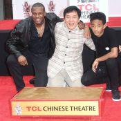 Jackie Chan : Le maître honoré et ému au côté de Chris Tucker et Jaden Smith