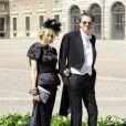 Des invités un peu différentes au mariage de la princesse Madeleine de Suède et de Chris O'Neill au palais royal à Stockholm le 8 juin 2013...