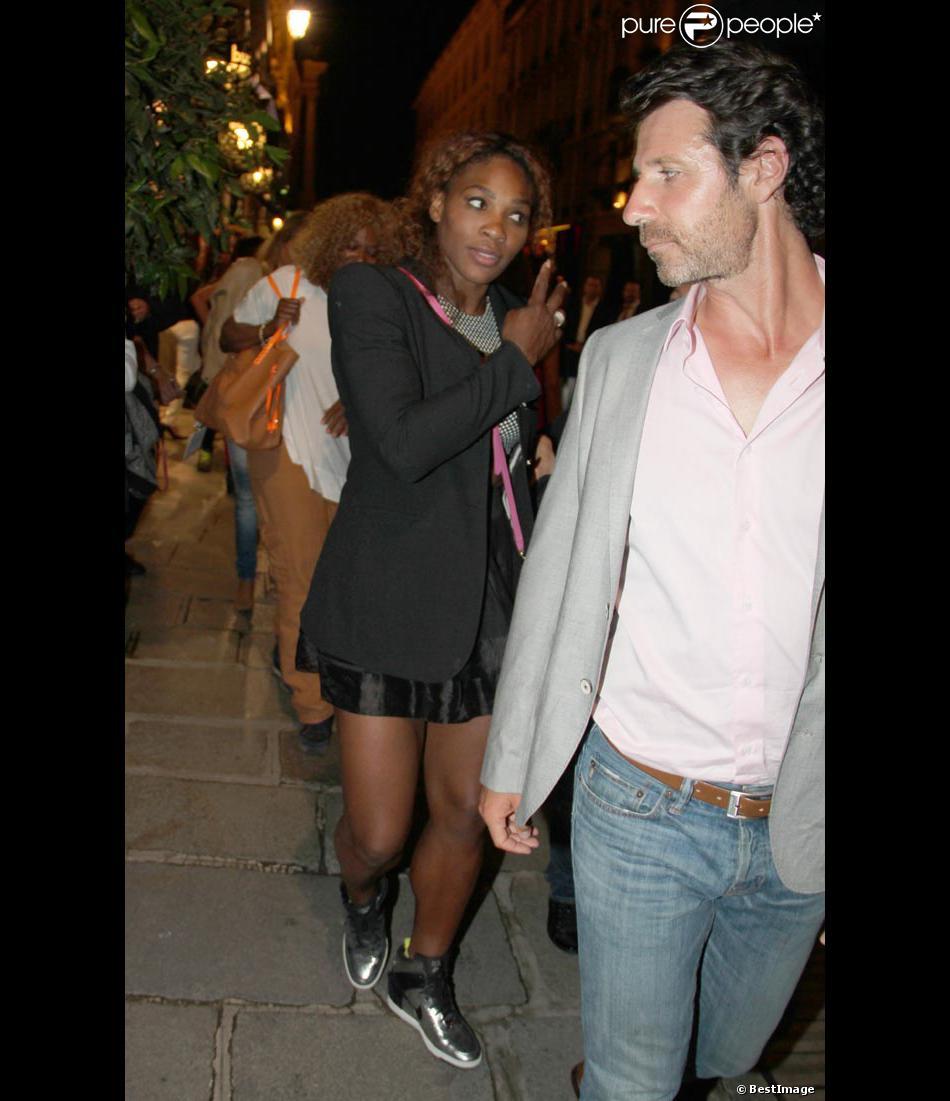 Serena Williams et Patrick Mouratoglou Serena Williams et Son
