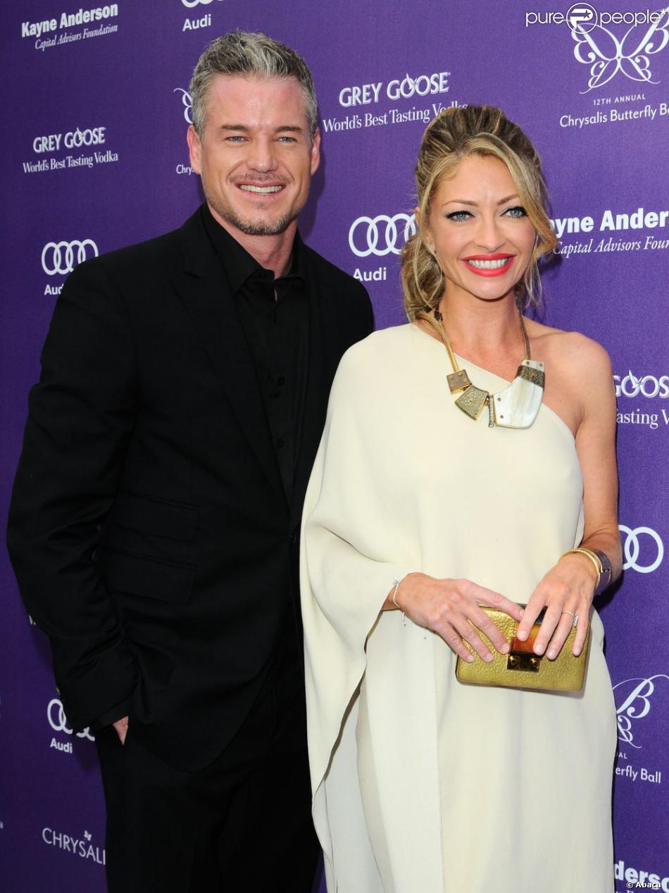Eric Dane et Rebecca Gayheart en couple au Chrysalis Butterfly Ball à ...
