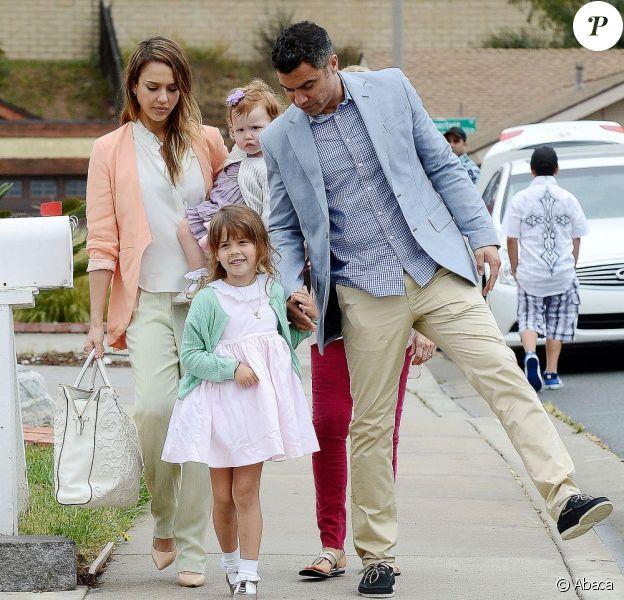 Comme Jessica Alba et sa famille les stars succombent au pastel, tendance phare de ce Printemps-Eté 2013