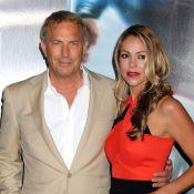 Kevin Costner et Amy Adams avec leurs amoureux : Radieux pour 'Man of Steel'