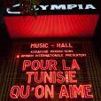 La soirée Pour La Tunisie qu'on aime s'est déroulée à L'Olympia à Paris, le 10 juin 2013.