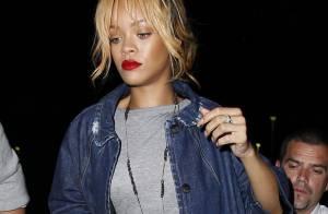 Rihanna : Soirée libre entre deux concerts, la chanteuse se met sur son 31