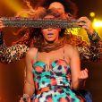 Beyoncé, habillée en Kenzo pour les concerts de sa tournée mondiale, The Mrs Carter Show.