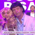 Jean-Michel Maire et Daniela Lumbroso reprennent Paroles, paroles sur D8 dans Touche pas à mon poste le 12 juin 2013